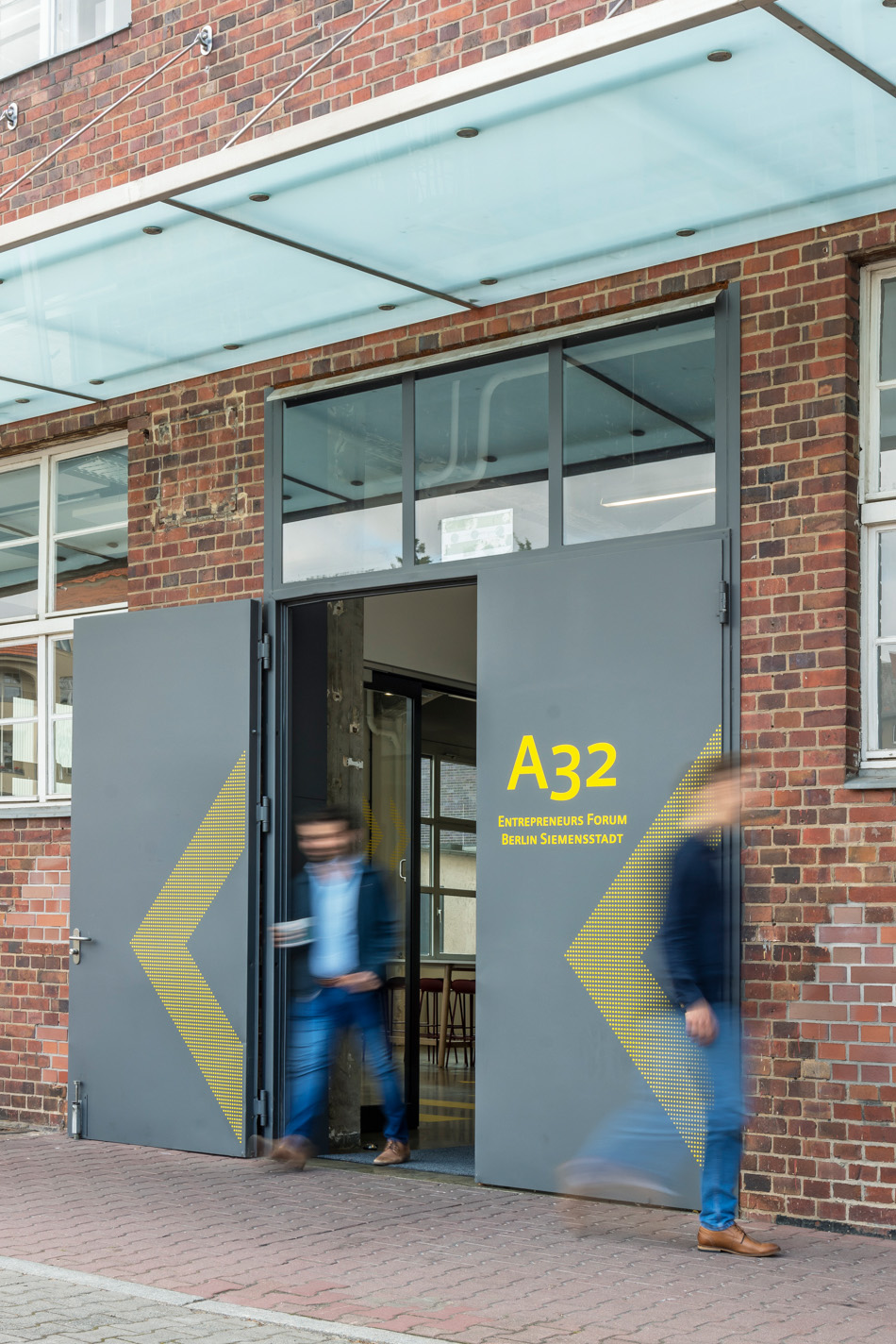 Entrance to Co-Working Space A 32