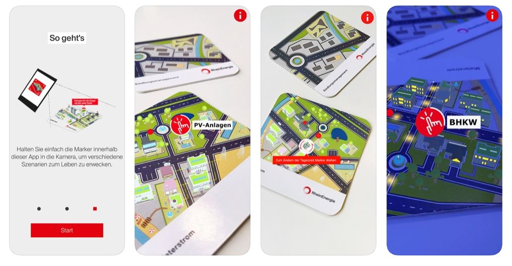 Illustration Explanation AR APP