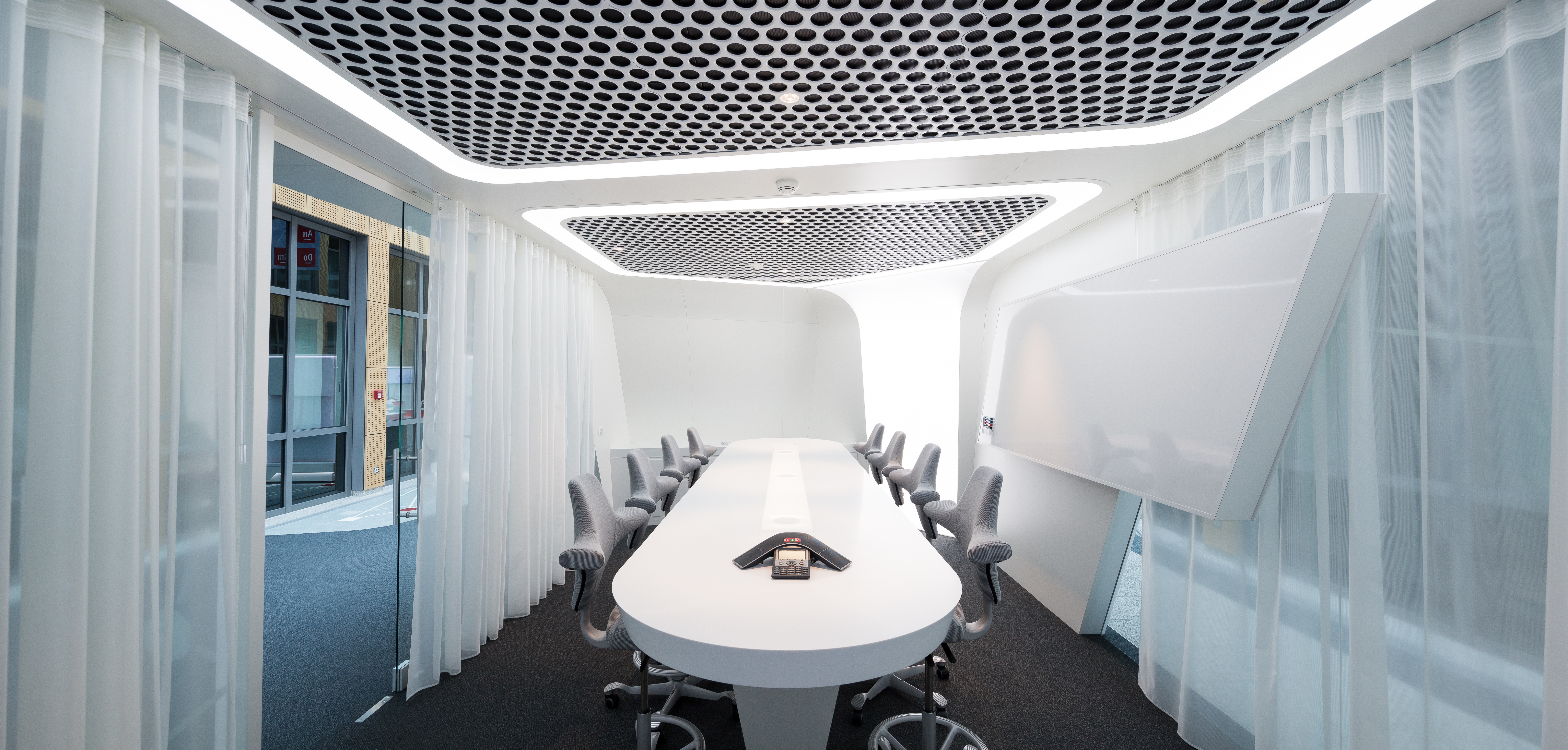 bright large conference room