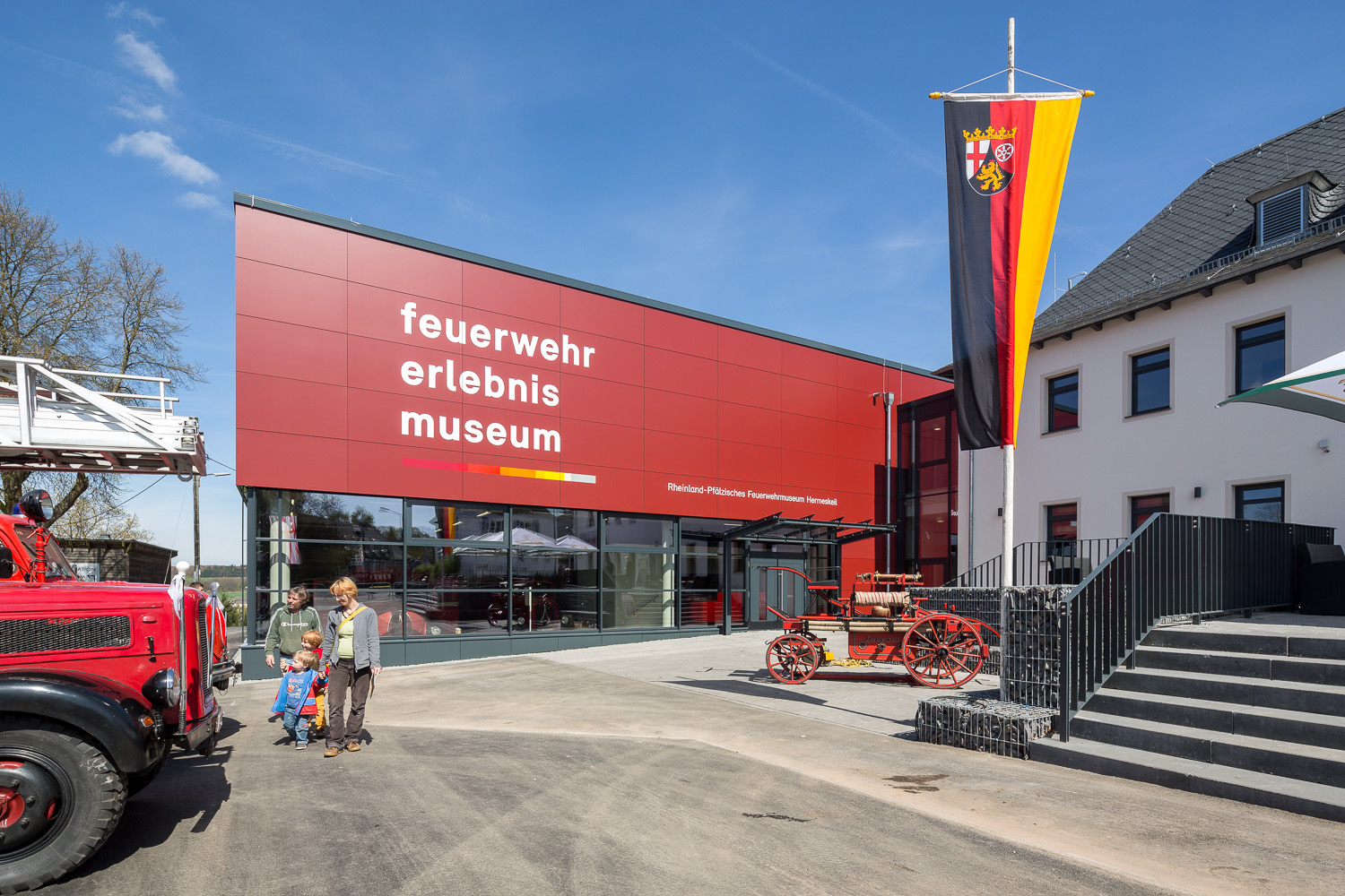 Exterior view of the fire brigade museum